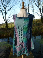 Sub-Marina - wool tunic dress by Wench.