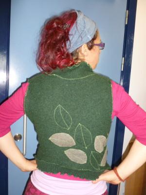 Rachel's Forest Waste Coat